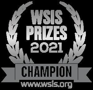 WSIS Prizes 2021 Champion, www.wsis.org.